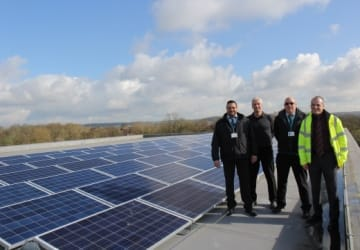 Council buildings harness sun power