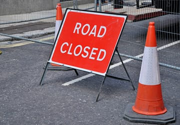 Road closure will affect access to Kingsley Sports Centre