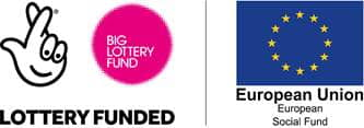 Big Lottery Fund And European Social Fund Logos