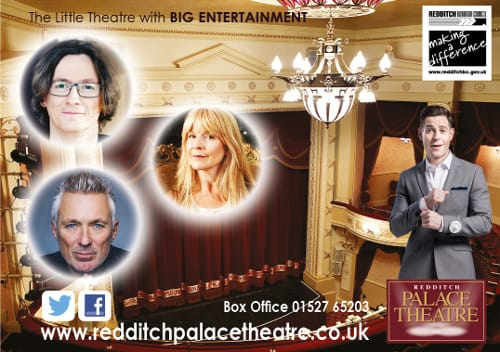 A promotional image for the Palace Theatre