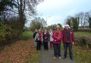 Health Walkers come together for Coffee morning