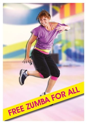 Free Zumba For All 0717 FB