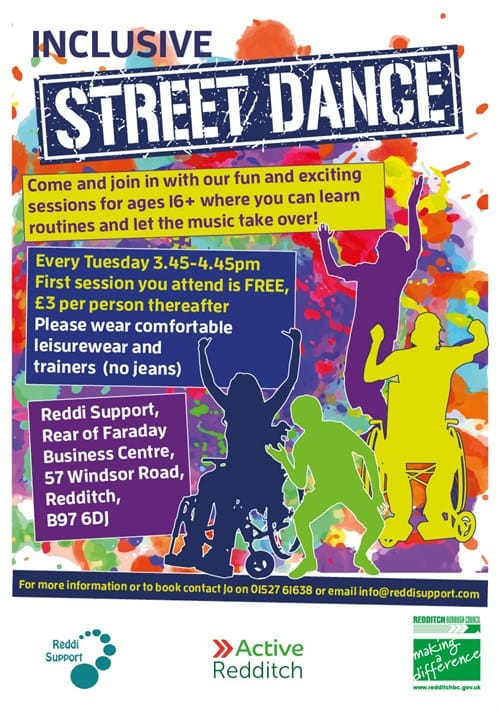 Disability Street Dance A5 280318 FB