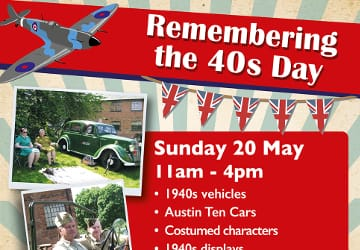 Sail into the Forties at Forge Mill this weekend
