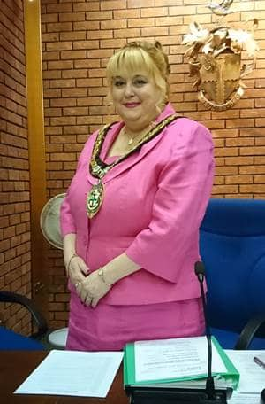 Cllr Julliet Brunner Mayor Of Redditch