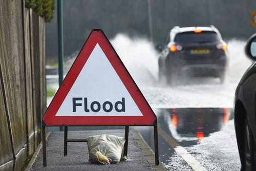 Flood advice issued after heavy overnight rain