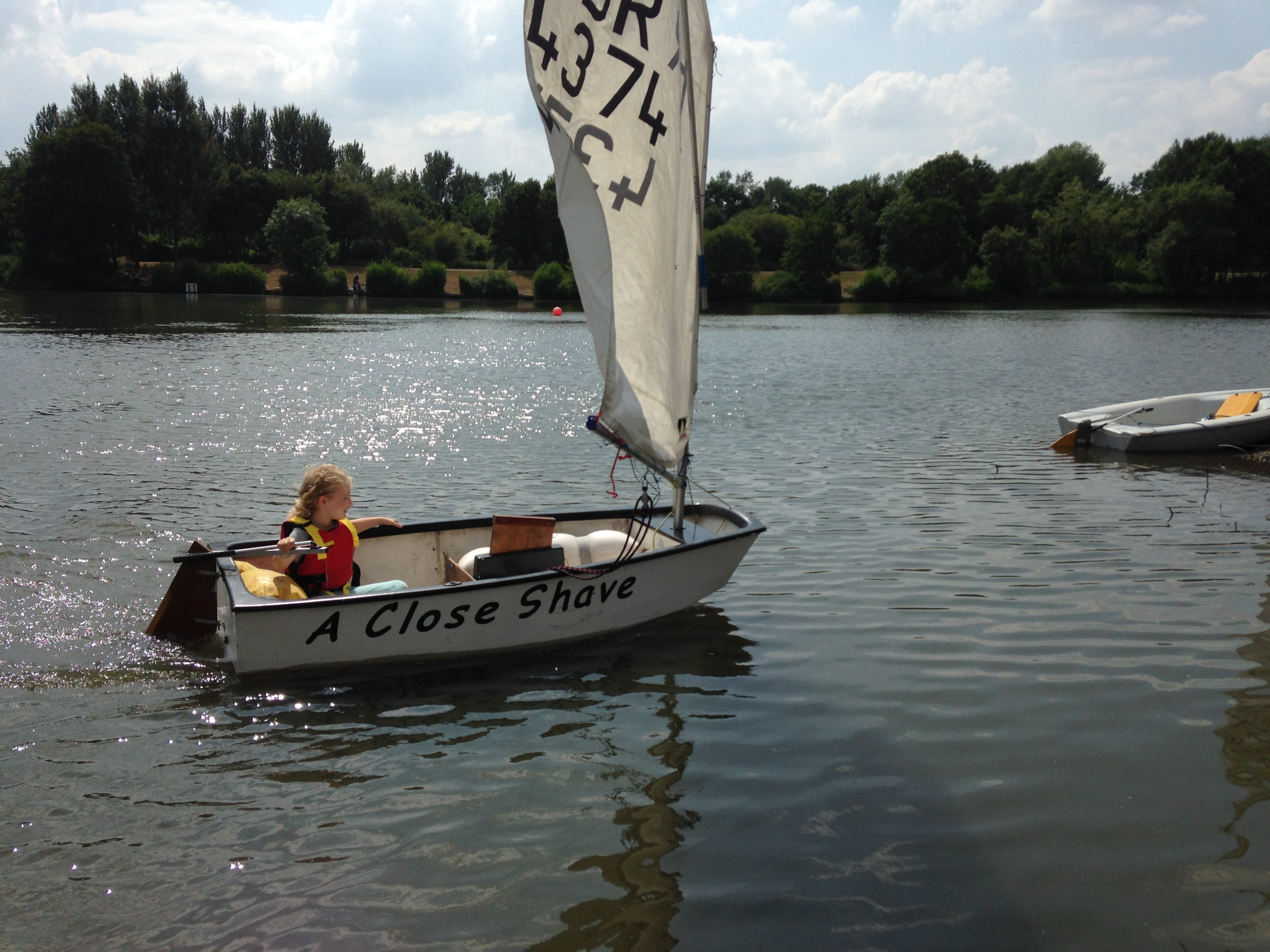 Sailing session a splashy success