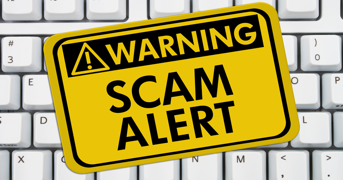 Spot scams and warn others