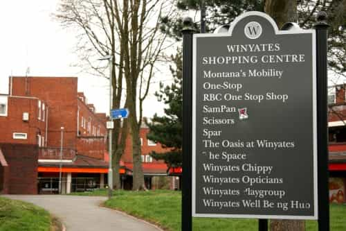 Winyates District Centre 1