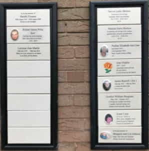 Memorial Plaques Outdoor