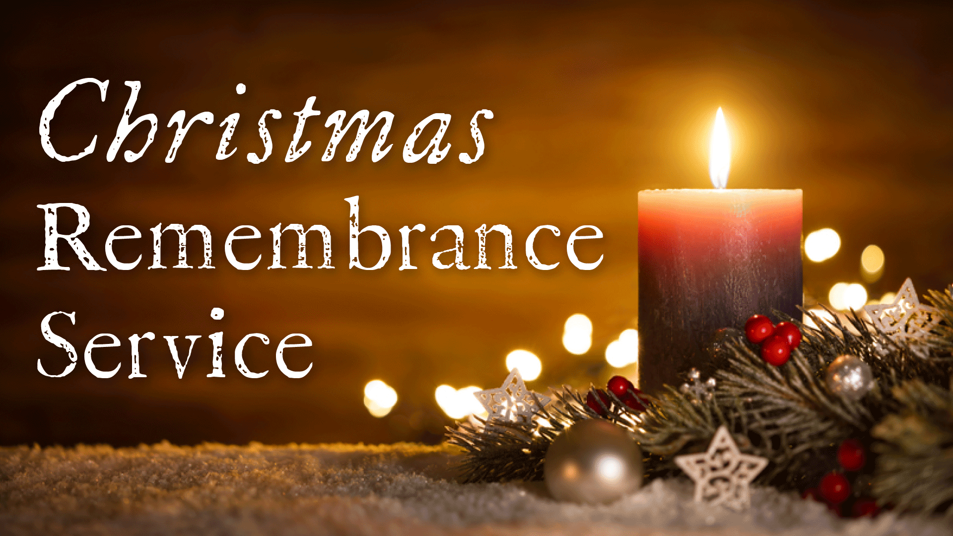 Xmas Remembrance Service Fbook Cover