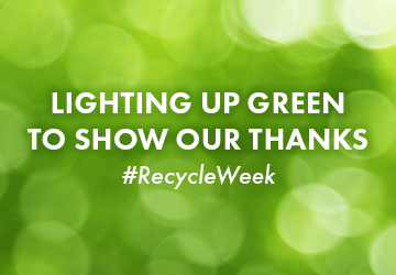 Recycle Week starts today! Together – We Recycle