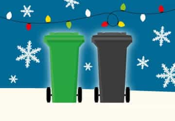 Festive Friday bin collection changes