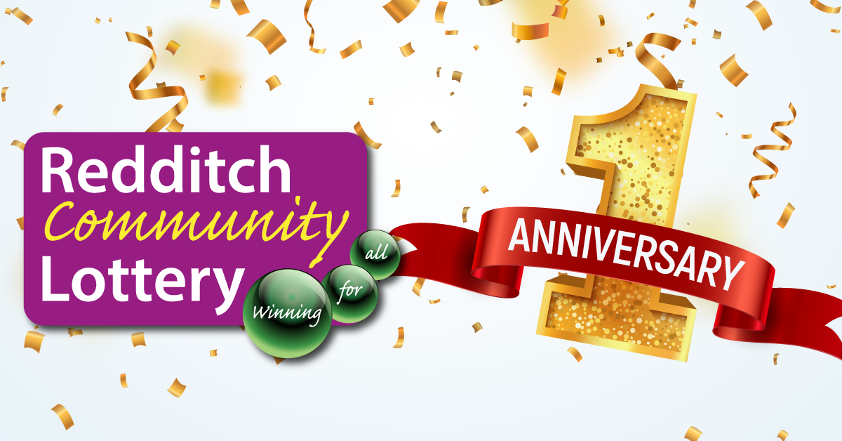 Redditch Community Lottery celebrates its first anniversary!