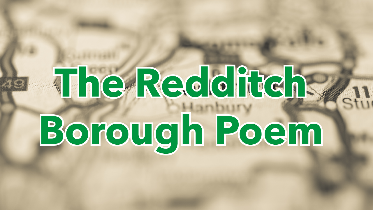 Redditch Borough Poem virtual reading launched